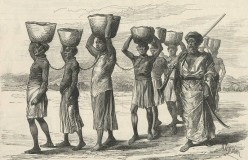 Slavery can be credited to many different nations of many different cultures and still exists even today. Sadly so.