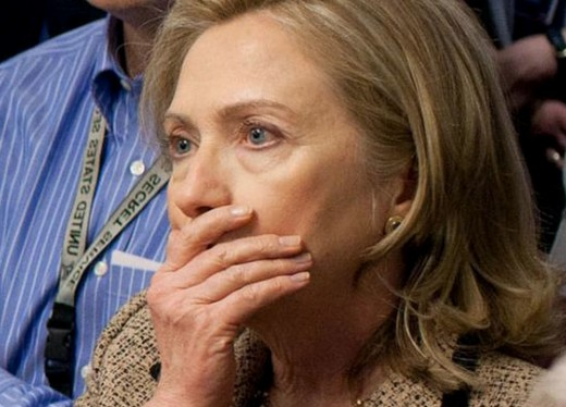 Hillary Clinton shocked at midterm loss of the Senate to the GOP in 2014 - A sign of impending doom for her 2016 Presidential chances.