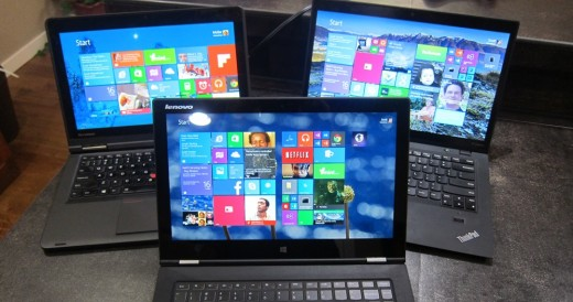 Touch Screen laptop to get to your apps instead of a mouse
