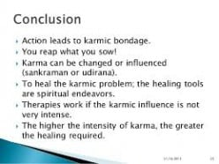 Karma theory and retribution - certain facts!