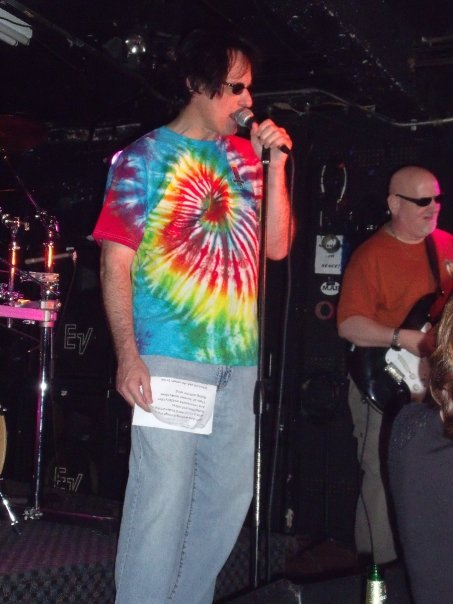 James singing at reunion in Michigan June 2009