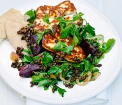 Superfoods Beetroot and Lentil Salad With Citrus Dressing