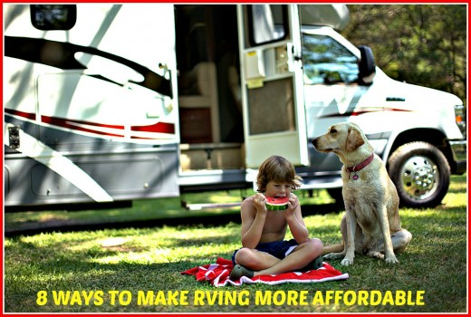 A list of 8 proven methods that can save RV travelers hundreds of dollars every time they vacation.