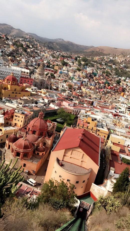 Panoramic View of Guanajuato, Guanajuato