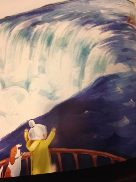 Carson and Annie at Niagara Falls