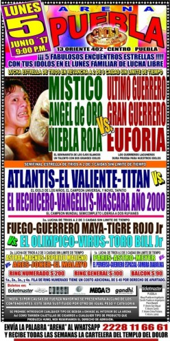 CMLL Puebla: The Return of the Review!