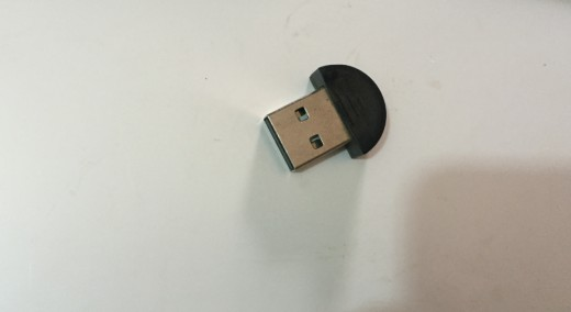 A USB Bluetooth device
