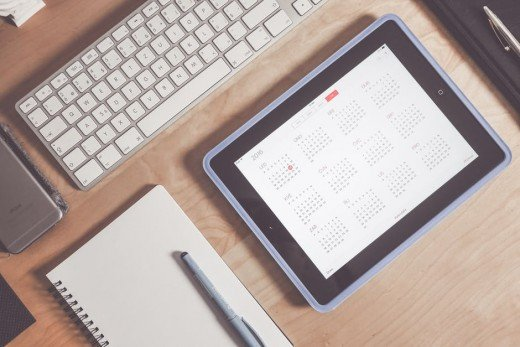Have a clear plan in place and utilize a calendar!
