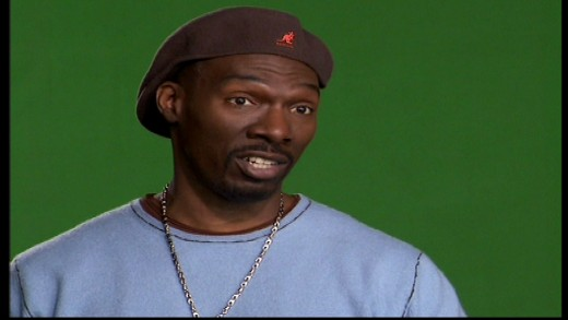 Charlie Murphy recounting stories of his adventures with famous celebrities in Charlie Murphy's True Hollywood Stories. Image copyright of Comedy Partners.
