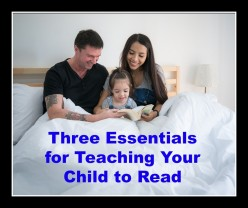 Teach Your Child to Read in 3 Easy Steps