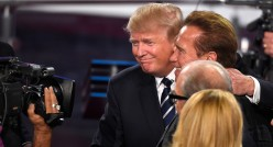 Donald Trump the Scoundrel VS Arnold Schwarzenegger the Hero