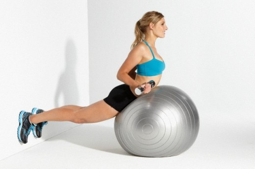 therapy ball workout