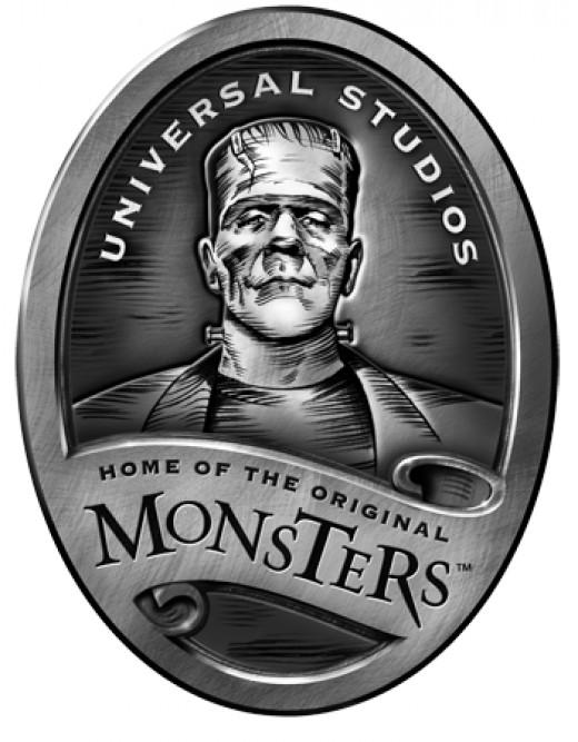 "Universal Studios ""Monsters"" logo."