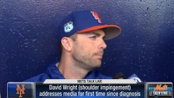David Wright needs to retire and allow himself and the Mets to move on.