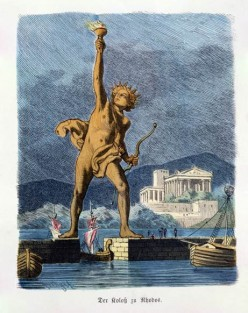 Historical Landmarks: The Colossus of Rhodes