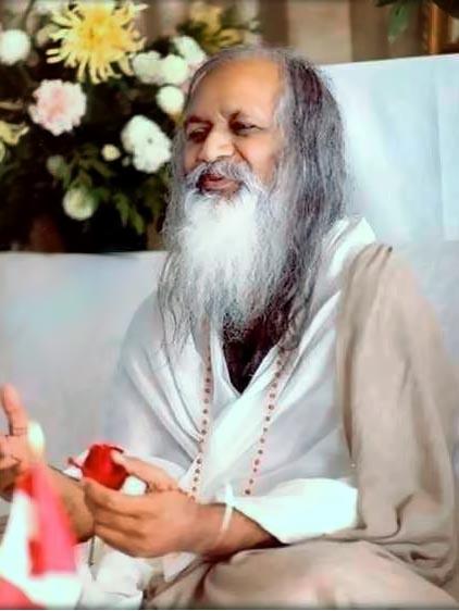 Maharishi Mahesh Yogi in 1978