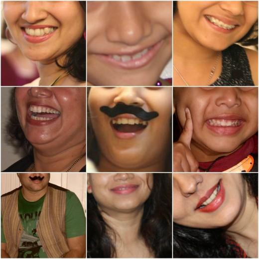 Smiles....