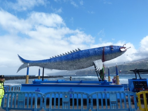 The Sardine Sculpture from the Carnival