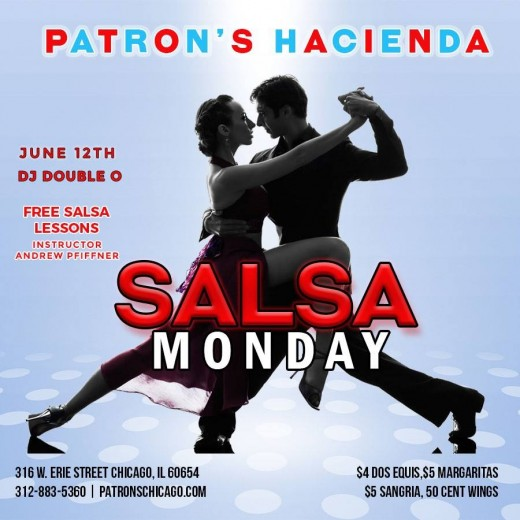 Salsa Monday's at Patron's Hacienda