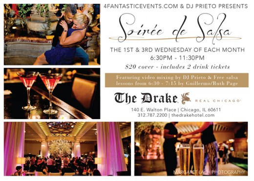 Soiree de Salsa at the Drake Hotel