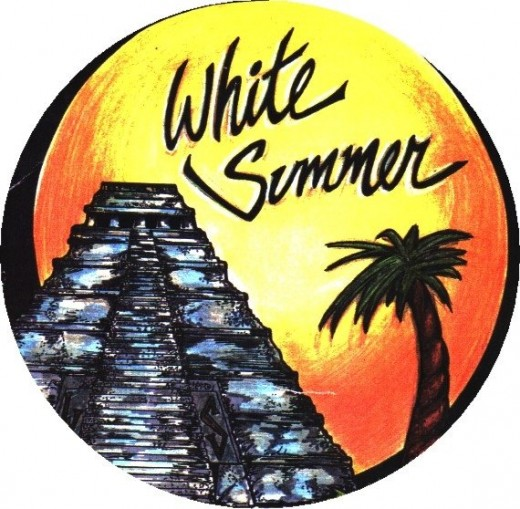THE WHITE SUMMER BAND COVER ART FOR 5TH ALBUM
