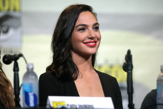 Gal Gadot at the 2016 San Diego Comic Con.