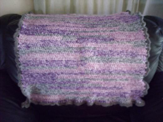 Crochet Baby Blanket Tutorial For A True Beginner Hubpages