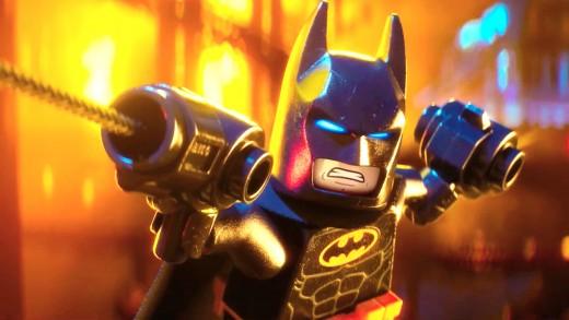 Will Arnett as Lego Batman.