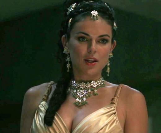 "Serinda Swan as Ashley Frank (aka Veritas) in Supernatural, Season Six, ""You Can't Handle the Truth."""