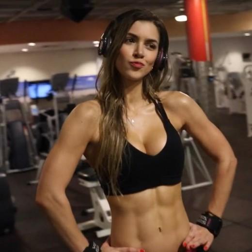 Anllela Sagra - Colombian Fitness Model