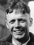 Charles Lindbergh as a young aviator.  Tarnished his image supporting Hitler's regime