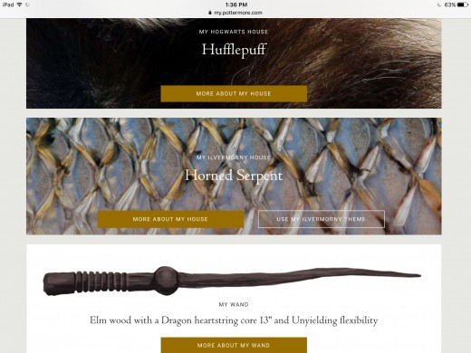 I'm a Hufflepuffen with a wand of elm and dragon heartstring. I'm also a Horned Serpent! My patronus is a Dragonfly...