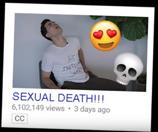 One mock potential video; meant to parody the many 'Gone Sexual' click-bait titles.