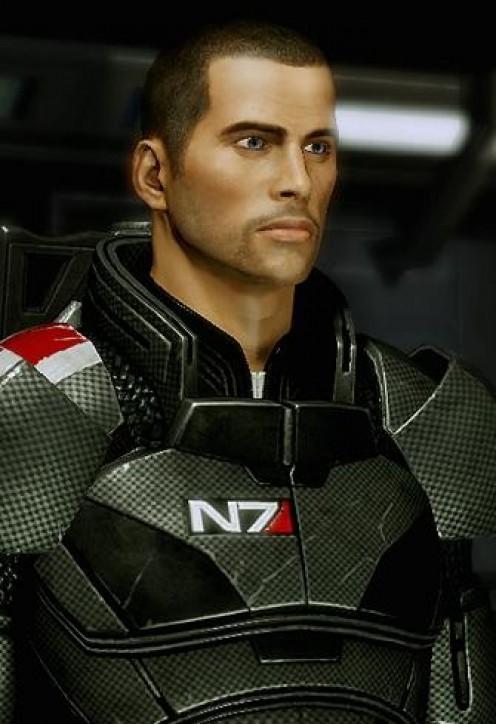 Default male Shepard.