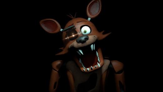 Foxy. He hates you. I think.