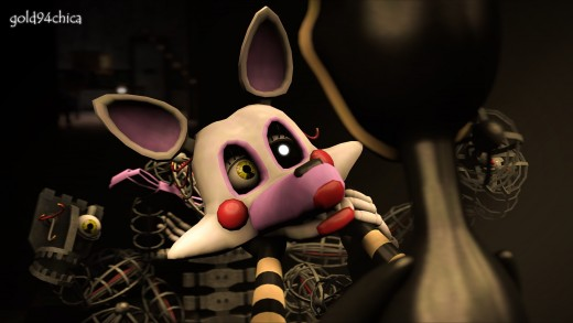 Mangle, you are very pretty. Just hide your extra head?