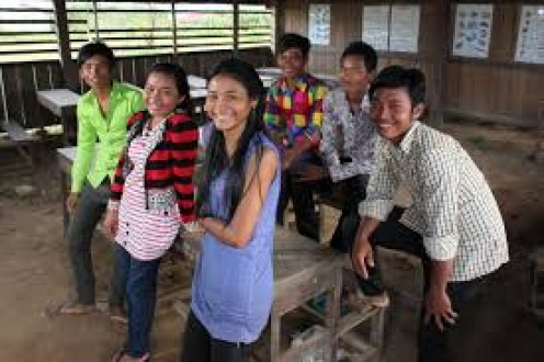 Cambodia is a very young population where a whopping 55% is under the age of 15.