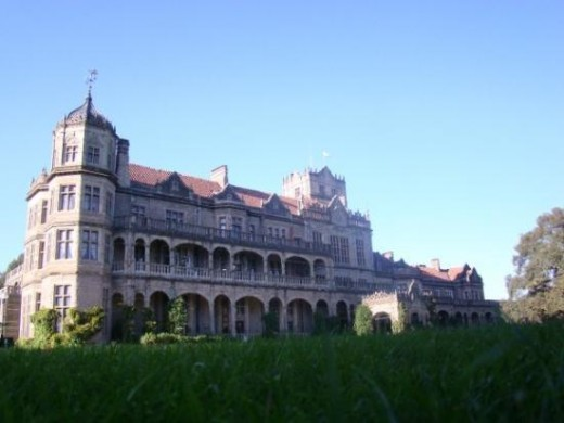 Viceregal Lodge, resident of the former Viceroy of India.
