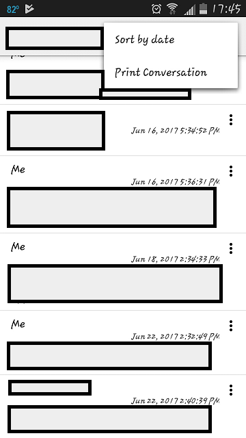Print SMS Messages from Android | HubPages