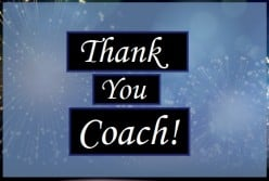 Thank-You Notes and Appreciation Messages for a Coach