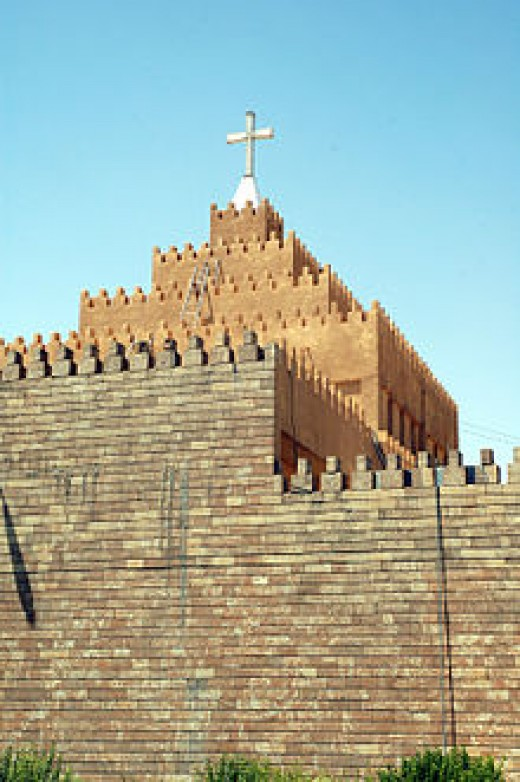 Chaldean Catholic cathedral of St Joseph, Erbil has had a bishop since the second century
