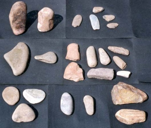 Tools used by early man