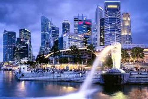 Singapore has a very low crime rate and it also has some beautiful sights to take in.