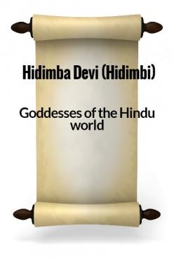 Hidimba Devi (Hidimbi)