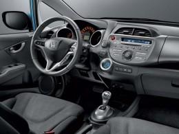 Honda Jazz dash board and steering