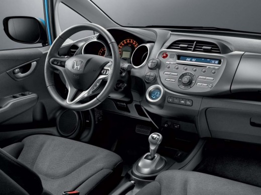 Honda Jazz dash board and steering