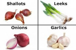 Kitchen Tips : Onions, Garlic, Leeks, Celery, Asparagus and more.