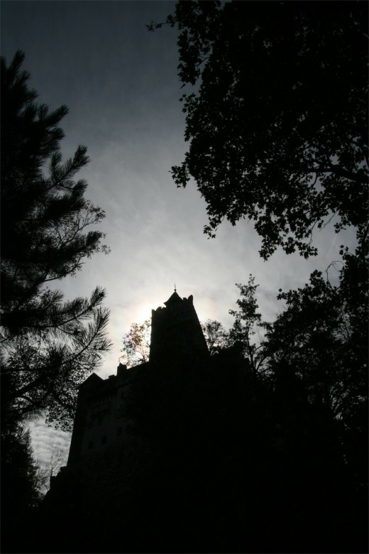Dracula´s castle was magnificent but spooky
