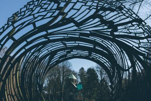 Cemetery Gate - Found Under Architecture / Landscape / Other