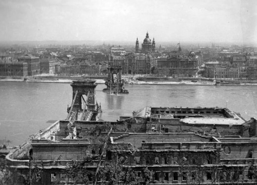 Budapest during World War 2